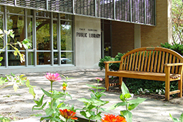 East Lansing Public Library exterior