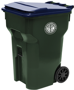 96-gallon recycling cart