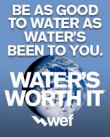 Be as good to water as water's been to you. Water's worth it.